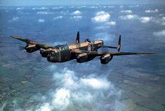Lancaster test flight, England