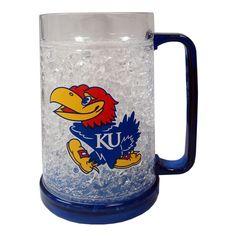 Crystal Mug - Kansas Jayhawks