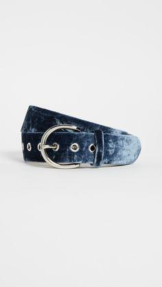 Sienna Velvet Belt