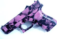 Hot Pink Skull Glock 19 by margarita Pink Guns, Hunting Girls, Gun Art, Pink Skull, Gun Holster, Cool Knives, Cool Guns, Guns And Ammo, Firearms