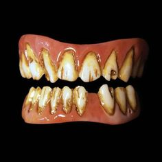 Dead Fred rotten zombie costume teeth by Dental Distortions are a new generation of costume creature teeth veneers. The FX Fangs 2.0 have improved realistic look and easier custom fit. -FX Fangs 2.0 a