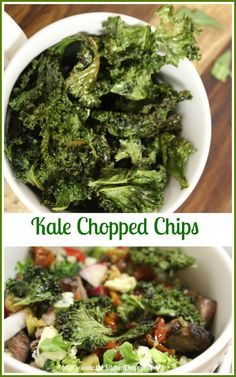 Kale Chopped Chips  The Kitchen Chopper