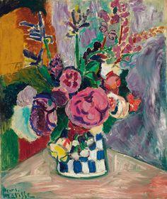 Les Pivoines , Peonies - Henri Matisse, 1907