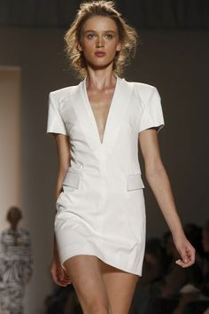 Can't stand how beautiful her make up is. Rachel Zoe #NYFW #MBFW #Fashion #RTW #SS14 http://nwf.sh/18QchJV