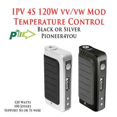 IPV4S 120W 100 Joule VV/VW Mod • Pioneer4You • Supports Ni or Ti • Tem – Victory Vape