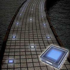 Fregaderos exteriores luces solares and caminos on pinterest - Luces navidenas solares ...
