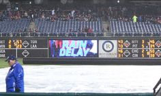 KBO players provide some comic relief amidst rain delay = A measly rain delay didn't keep the LG Twins or Doosan Bears off the basepaths in a recent Korean Baseball Organization game. Instead, Seok-hwan Yang and Hyung-jong Lee of the Twins used the time to.....