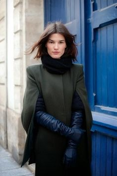 How to Wear: Long Leather Gloves – Black.co.uk