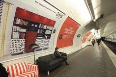 Ikea Paris Metro
