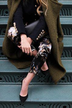 blair-edie-atlantic-pacific-blog-fashion-nyc-gucci-floral-olive-coat