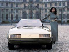 1972 | Citroen GS Camargue by Bertone