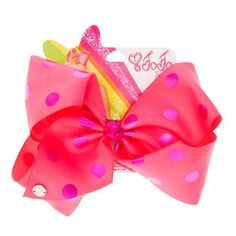 Jojo Siwa HUGE Bow tastic Boxed Set Accessories Limited edition Free Shipping!