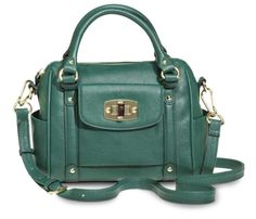 Price $34.99 Merona® Mini Satchel Handbag with Removable Crossbody Strap- Green/Blue
