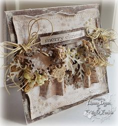 Tattered Treasures: Frilly and Funkie 'Tis the Season'