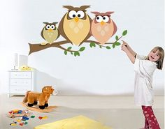Cute kids' motive (wall decal)