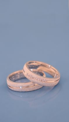 Fancy Jewellery, Stylish Jewelry, Cute Jewelry, Jewelry Rings, Jewelery, Pink Wedding Rings, Wedding Jewelry Sets, Simple Ring Design, Engagement Rings Couple