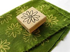 Stamp With Bleach On Fabric - Click image to find more diy & crafts Pinterest pins