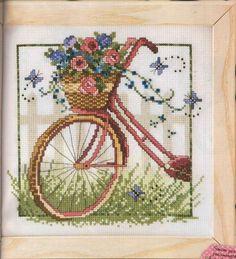 PLANETA PONTO CRUZ 2: Bicicleta com Flores