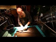 Barbour jackets are the epitome of cool. PRZ talks with one of Barbour's expert waxers Keith Broadley about their iconic jackets and the incredible history o. Barbour Jacket, New York Fashion, Conversation, The Incredibles, Cool Stuff, Jackets, Live, Youtube, Fun