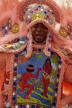 Mardi Gras Indians - New Orleans, Louisiana