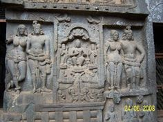 2nd Century BC, these works in the Karla Caves, Lonavala