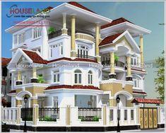 Houseland chuyên thiết kế biệt thự đẹp, biệt thự hiện đại, cổ điển