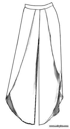 Most up-to-date Free of Charge sewing pants palazzo Ideas Výsledek obrázku pro palazzo pants patterns free Sewing Pants, Sewing Clothes, Diy Clothes, Clothes Patterns, Dress Patterns, Pantalon Thai, Pantalon Large, Fashion Pants, Look Fashion