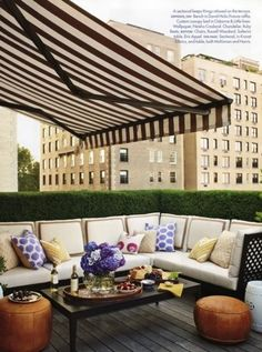 Eaxtendable awning