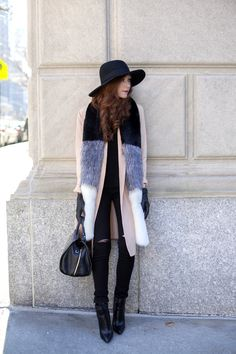 How to dress chic & trendy for a cold day : MartaBarcelonaStyle's Blog
