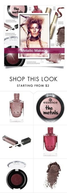 """""""Metallic Makeup"""" by lenochca ❤ liked on Polyvore featuring beauty, tarte and metaliiicmakeup"""