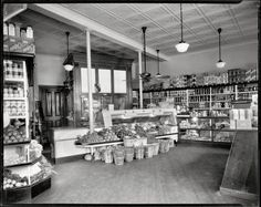 Interior of District Grocery Store, Washington, D.C., circa #1935