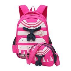 Moonwind Navy Uniform Kids School Backpack for Girls Boys Book Bag Crossbody Kit * Click image for more details. (This is an Amazon Affiliate link and I receive a commission for the sales)