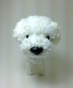 Omg! I love this little amigurimi bichon! Just like my fur babies!