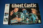 1980s Ghost Castle Board Game