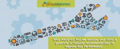 With #Stickymarketers Web #Analytics tool we analyze your data & generate actionable recommendations to improve Key #Performance Indicators for your #website #Stickymarketers  Stickymarketers.com