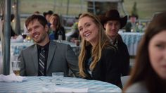 Heartland - Season 8, Episode 2 - Jack and Lisa's wedding reception - Ty and Amy