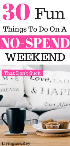 Are you looking for things to do on a no-spend weekend at home? Then you will love these ideas! No-spend weekends aren't just fun but they also save you a lot of money. Enjoy these family friendly activities that are for kids as well.