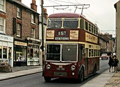 """Our second Reading trolley bus this week. This is a 2 axle Sunbeam with Burlingham body. Reading Buses, Bus Coach, Busses, Public Transport, Great Britain, Transportation, Coaching, Train, Nostalgia"