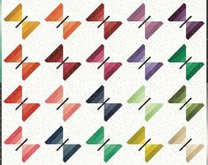 Fairy quilt fabric | Etsy Machine Embroidery Quilts, Applique Embroidery Designs, Applique Quilts, Map Quilt, Patch Quilt, Quilt Top, Churn Dash Quilt, Beginner Quilt Patterns, Pinwheel Quilt