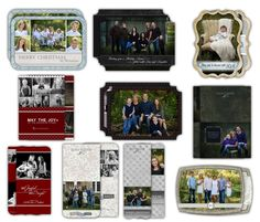 Holiday Cards - Photoshop Templates