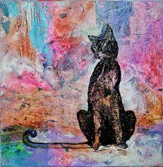 Check out this item in my Etsy shop https://www.etsy.com/uk/listing/578228866/animal-painting-12-cat-original-art-on