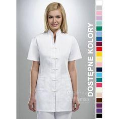 Odzież medyczna dla kobiet. | Bluza damska kolorowa 1501 - z pewnością będzie to strzał w 10-tkę dla pielęgniarek i lekarzy. | Sklep internetowy Dersa |