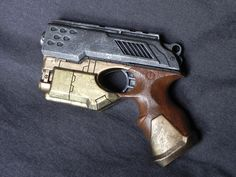Scout crosse bois Steampunk Gun, Hand Guns, Nerf, Toys, Pistols, Toy, Games, Revolver