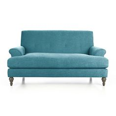 For my beach themed living room! Camilla Loveseat in Sofas | Crate and Barrel