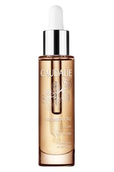 Caudalie's dry oil melts into the skin in seconds, leaving it remarkably silky and soft.The key ingredient, resveratrol, plumps lines and tightens sagging skin. Caudalie Premier Cru the Elixir, $99, us.caudalie.com. Courtesy Caudalie  - HarpersBAZAAR.com