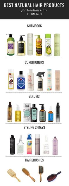 Keep your hair shiny and healthy the natural way with this guide to the best natural hair products.