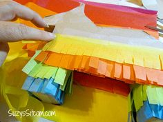 How to make a personal pinata!  Cute idea for party favors!