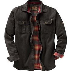 Looking for the perfect Legendary Whitetails Mens Journeyman Shirt Jacket Tarmac Xx-Large Tall? Please click and view this most popular Legendary Whitetails Mens Journeyman Shirt Jacket Tarmac Xx-Large Tall. Mode Outfits, Stylish Outfits, Revival Clothing, Men's Clothing, Look Man, Shirt Jacket, Jacket Men, Cool Shirts, Denim Shirts