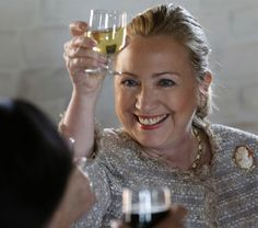 A TOAST TO ME - Hillary Clinton