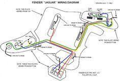 Fender Jaguar Bass Wiring Diagram   Mechanic\'s Corner   Pinterest ...